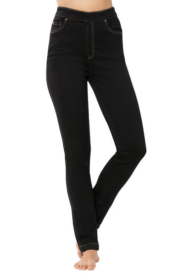 PajamaJeans® - High-Waist Skinny Black