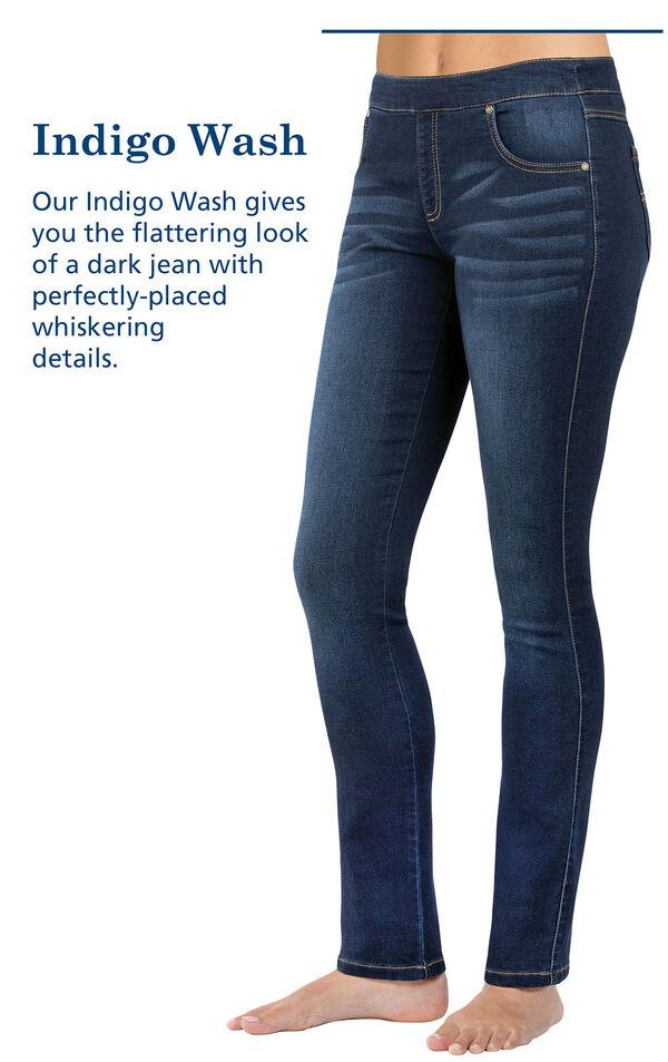 PajamaJeans® - Skinny Indigo Wash image number 5