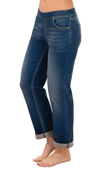 PajamaJeans® - Boyfriend Bluestone Wash