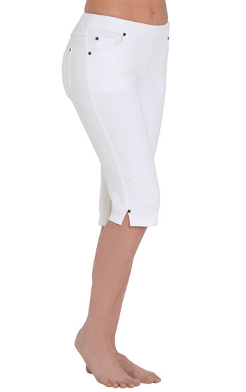 PajamaJeans® Knickers - White