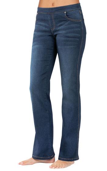 PajamaJeans® - Bootcut Indigo Wash