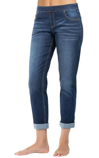 PajamaJeans® - Boyfriend Indigo Wash
