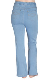 PajamaJeans - High-Waist Bootcut Clearwater Wash image number 2