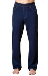 Model wearing PajamaJeans for Men - Indigo image number 0