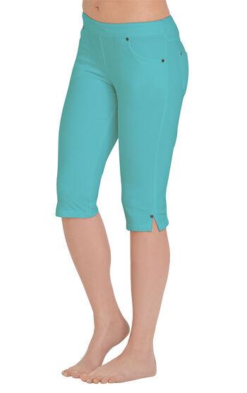 PajamaJeans® Knickers - Aqua