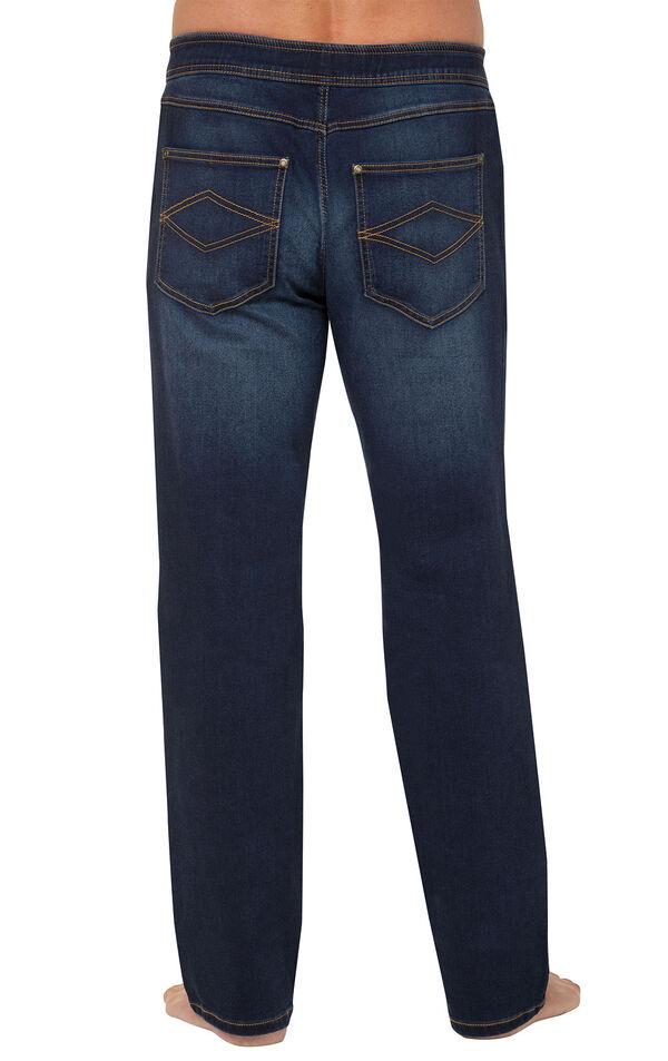 PajamaJeans for Men - Indigo Wash - Back View image number 1