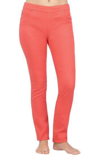 PajamaJeans® - Skinny Coral
