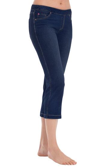 PajamaJeans® Capris - Indigo
