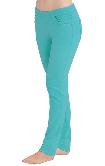 PajamaJeans® - Skinny Aqua