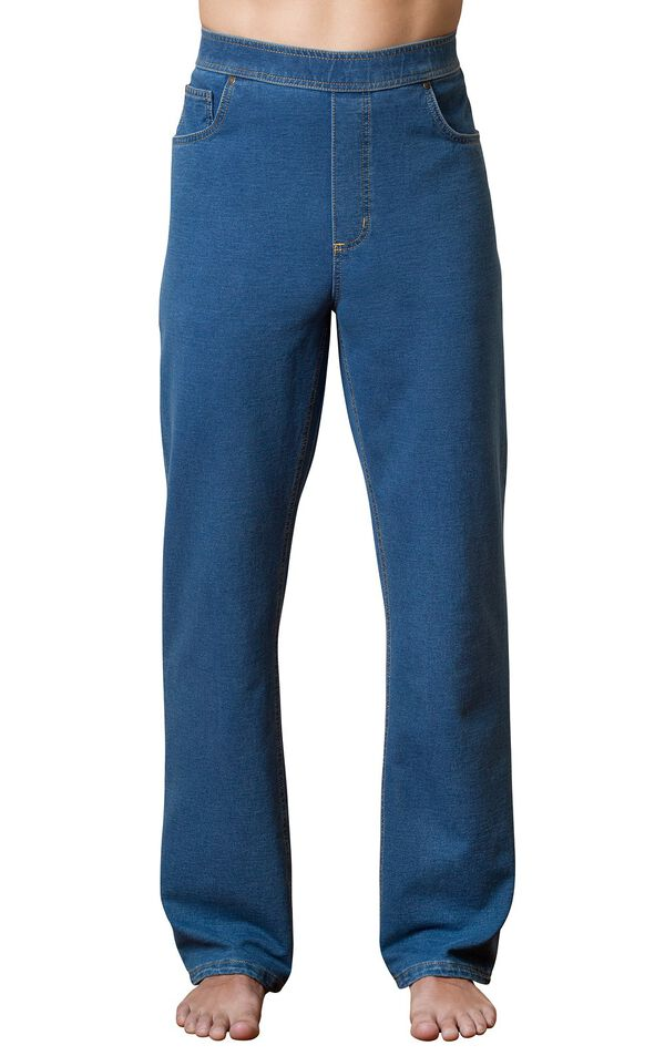 Model wearing PajamaJeans for Men - Pacific image number 0
