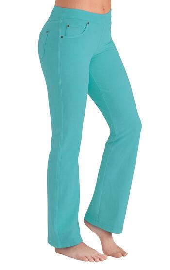 PajamaJeans® - Bootcut Aqua