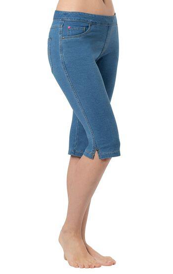 PajamaJeans® Knickers - Bermuda Wash
